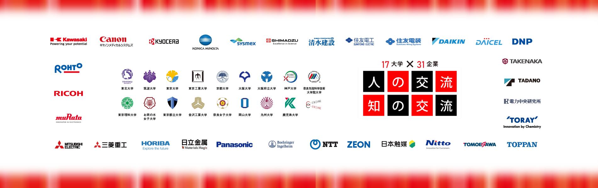 17大学・31企業